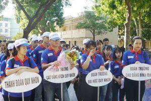 43 đội thanh niên tình nguyện tiếp sức mùa thi