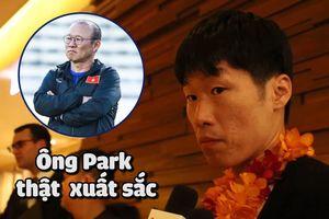 Park Ji-sung đã nói thế này về HLV Park Hang-seo khi vừa đến TP.HCM