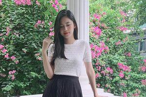 Á hậu Thanh Tú khoe vóc dáng xinh đẹp trong thời gian ở cữ