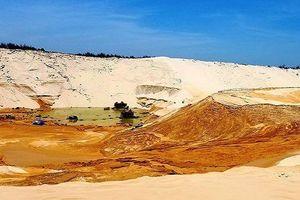 Thi thể nạn nhân mất tích trong vụ sụt cát khi đang khai thác titan đã được tìm thấy