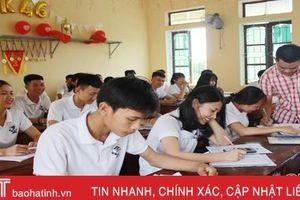 Đảm bảo an toàn tuyệt đối kỳ thi THPT quốc gia tại cụm thi Hà Tĩnh