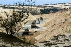 Quảng Bình: Đã tìm thấy thi thể nạn nhân vụ sụt cát ở mỏ khai thác titan