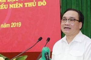 Bí thư Thành ủy Hà Nội đối thoại với đoàn viên, thanh thiếu niên