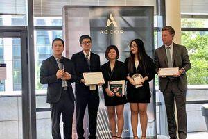 Sinh viên Việt Nam đoạt giải Nhất cuộc thi quốc tế về ý tưởng kinh doanh khách sạn