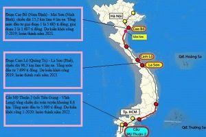 Sắp khởi công ba đoạn cao tốc Bắc – Nam đầu tiên