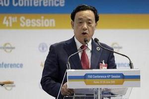 FAO có tân Tổng giám đốc là người Trung Quốc