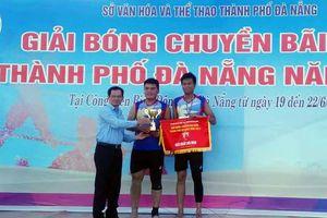 Kết thúc giải bóng chuyền bãi biển TP Đà Nẵng