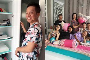 'Đột nhập' căn nhà 400m2 có thang máy của Minh Nhí - người có vài 'rổ tiền' trong tủ