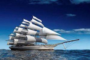 Tranh đề tài thuận buồm xuôi gió được treo thế này, phong thủy nhà chẳng cần bàn nhiều