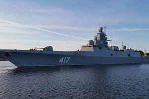 Tàu chiến hiện đại nhất và đoàn tàu hộ tống của Nga thăm chính thức Cuba