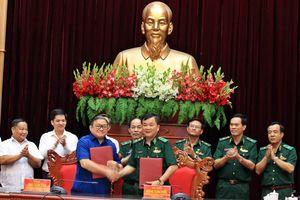 Bộ Tư lệnh BĐBP và Trung ương Hội Nông dân Việt Nam ký chương trình phối hợp giai đoạn 2019-2025