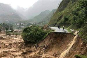 Lũ quét cuốn 4 người mất tích ở Lai Châu