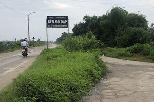 Dấu hiệu khuất tất việc thầu bến đò Dấp tại Thường Tín, Hà Nội