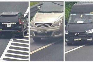 Clip: Các tài xế lùi xe nguy hiểm trên cao tốc Hà Nội - Hải Phòng