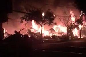 12 kiốt ở Lâm Đồng bị 'bà hỏa' thiêu rụi