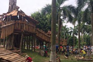 Ngôi nhà cây khổng lồ tại sân chơi phiêu lưu đầu tiên cho trẻ em Việt Nam