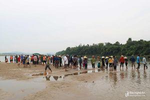 Vụ 3 học sinh đuối nước trên sông Lam: Đã tìm thấy thi thể cuối cùng