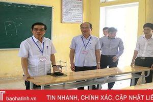 Trưởng BCĐ thi THPT quốc gia tỉnh Hà Tĩnh: Không được chủ quan, sai sót!