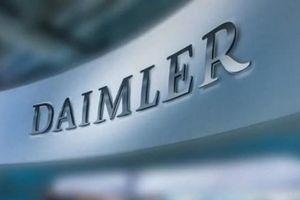 Daimler hạ triển vọng lợi nhuận do vụ bê bối khí thải ôtô