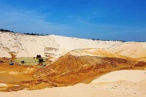 Tìm thấy thi thể nạn nhân vụ sụt trượt cát ở Quảng Bình