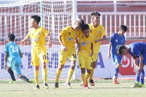 U15 SHB Đà Nẵng chiến thắng giòn giã trận cuối của vòng bảng