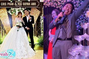 Cris Phan làm 'Vê lốc' đám cưới lần 2: Review từng khách mời nhưng spotlight vẫn là người bố vui tính