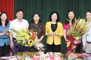 Ban Thường vụ Thành ủy Hà Nội phân công, điều động cán bộ