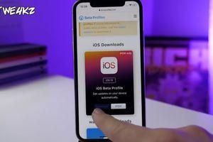 Cách nâng cấp iOS 13 phiên bản mới nhất trực tiếp trên iPhone