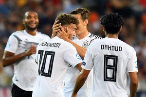 U21 Đức giành vé vào bán kết U21 châu Âu với ngôi nhất bảng B