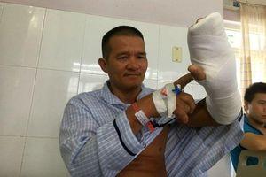 'Hiệp sĩ' ở Bình Dương bị chém đứt gân tay được miễn viện phí