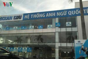 Phát hiện Trung tâm Ngoại ngữ Quốc tế hoạt động 'chui' ở Quảng Bình