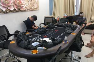 Triệt phá sòng bạc 'khủng' tại chung cư hạng sang ở Sài Gòn
