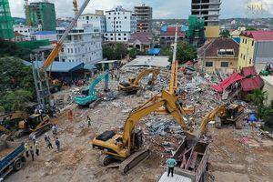 Sập công trình xây trái phép, lãnh đạo Campuchia bị sa thải
