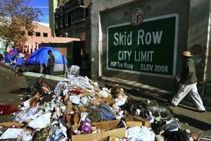 California u ám với người vô gia cư, chất thải và kim tiêm