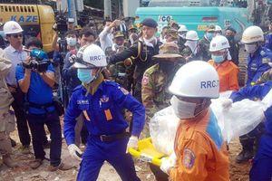 Campuchia buộc tội 4 người TQ vụ sập nhà làm 28 nạn nhân chết
