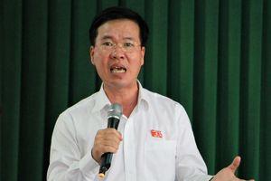 Ông Võ Văn Thưởng: 'Sẽ đeo đuổi vấn đề cử tri phản ánh'