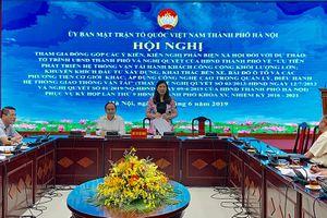 Tìm giải pháp 'giảm tải' cho giao thông Hà Nội