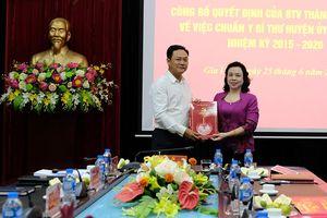 Đồng chí Lê Anh Quân được chuẩn y Bí thư Huyện ủy Gia Lâm