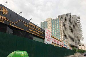 Cầu Giấy hoàn thành việc rào tôn 'đất vàng' E4