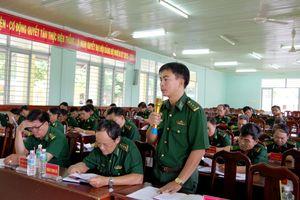 BĐBP Tây Ninh: Hội nghị đóng góp ý kiến dự thảo Luật Biên phòng Việt Nam