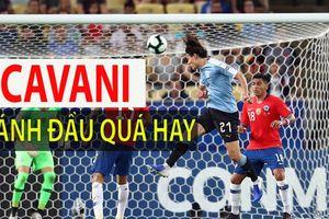 Cavani tỏa sáng, Uruguay giành ngôi đầu bảng C của Chile