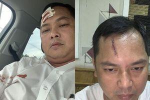 Người bị 'nhóm cảnh sát bị vây nhốt' đánh may 13 mũi yêu cầu khởi tố vụ án