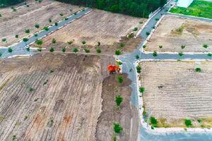 Thêm sai phạm của cái gọi là 'Tập đoàn địa ốc Alibaba': Cào đất giấu hệ thống đường nhựa trái phép trong dự án 'ma'