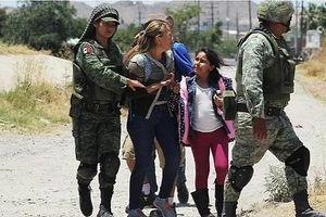 Mexico điều 15.000 quân đến biên giới Mỹ ngăn dòng người di cư