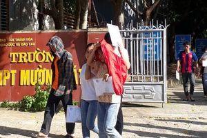 Thanh Hóa: 351 thí sinh vắng mặt ngày thi đầu tiên