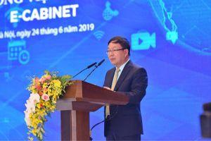 e-Cabinet giúp giảm 30% thời gian phiên họp Chính phủ
