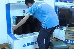 Tivi Asanzo chênh giá lớn giữa các cửa hàng