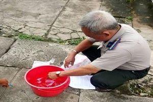VKSND TP Cao Lãnh kiểm sát tiêu hủy vật chứng trong vụ án hình sự