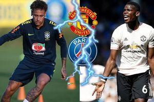 Hé lộ lý do M.U từ chối lời đề nghị đổi Neymar lấy Paul Pogba của PSG