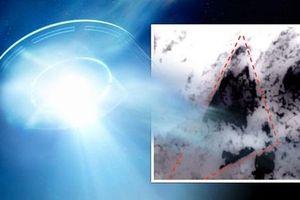 Phát hiện vật thể to bằng hòn đảo nghi là UFO trồi lên từ Thái Bình Dương